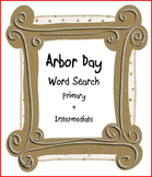 Arbor Day Word Search - Primary & Intermediate
