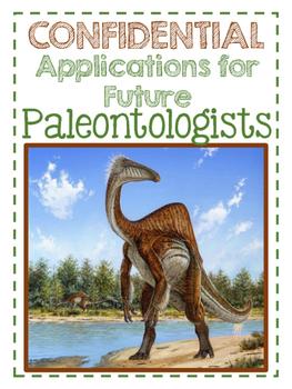 Paleontologist Application-Class Book