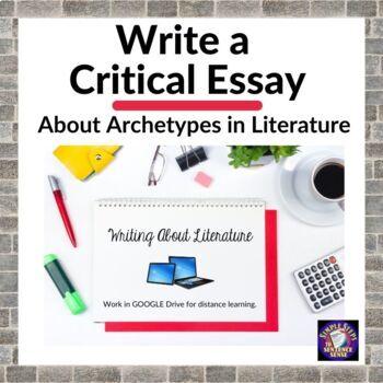 Archetypes in Literature Critical Essay