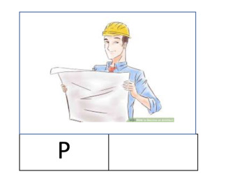 Architect / Engineer Lower case and Upper case printable -