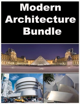 Architecture  Bundle- Modern Focus- Gehry, Wright, & Pei-