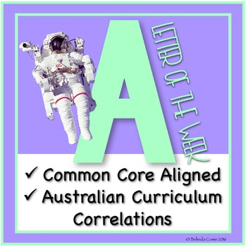 FREE Letter of the Week Pack: A (Including Literacy, Math,