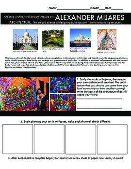 Architecture Art Project Hispanic American living artist (