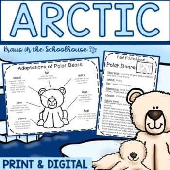 Arctic Research Activities and Graphic Organizers