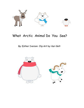 Arctic Animal Adapted Book