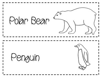 Arctic Animal Cards