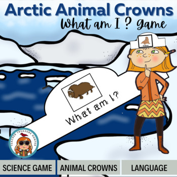 Arctic Animal Crowns ~ Guess the Arctic Animal - 20 animals