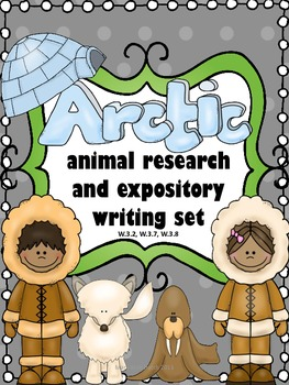 Arctic Animal Expository Writing Set