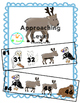 Arctic Animal Number Lines to 50