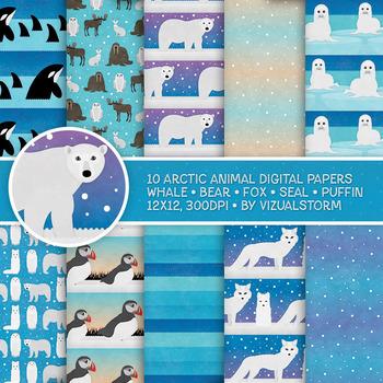 Arctic Animal Patterns, 10 Handmade Antarctica Winter Habi