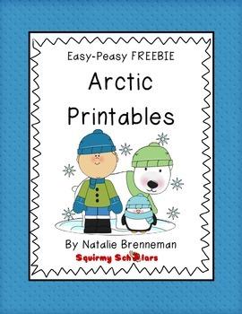 Arctic Animal Printables