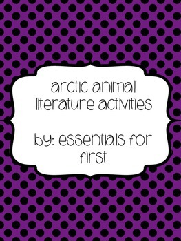 Arctic Animal Reading Activities (Penguin/polar bear)