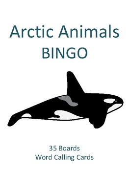Arctic Animals BINGO!
