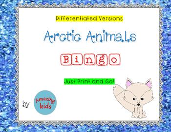 Arctic Animals - Bingo *FREE*