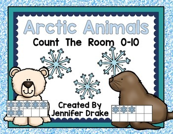 Arctic Animals Count the Room 0-10