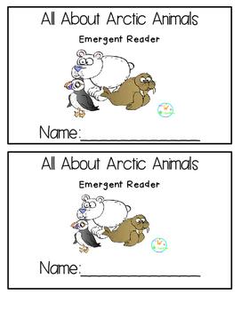 Arctic Animals Emergent Reader