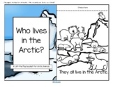 Arctic Animals Informative Reader plus Puppets, Vocabulary