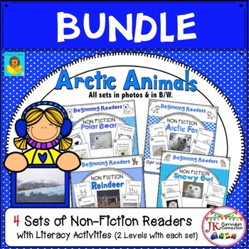 Arctic Animals! Guided Reading Non-fiction Beginning Readers