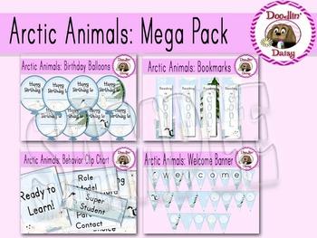 Arctic Animals: Mega Pack