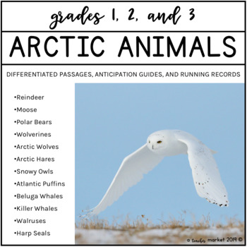 Arctic Animals Nonfiction Close Reading Bundle
