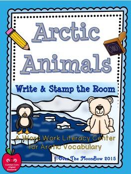Arctic Animals Polar Write / Stamp the Room Activity Pack