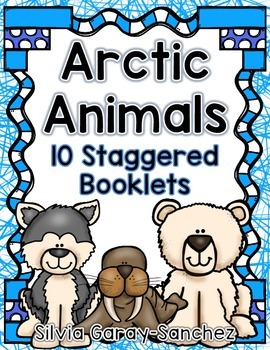 Arctic Animals Staggered Booklets