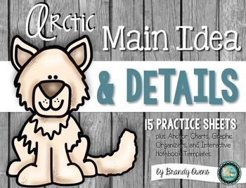 Arctic Main Idea and Details Printables