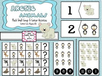 Arctic Polar Animals Math Centers / Small Group Activities