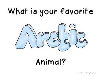 Arctic/Polar Animal Cards