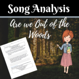 Are We Out of the Woods Yet- Song Analysis Using Figurativ