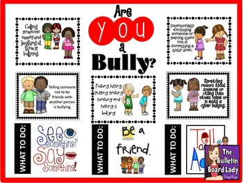 Are YOU a Bully?  Bullying Bulletin Board