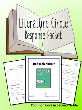 Are You My Mother? Literature Circle Response Packet- Book