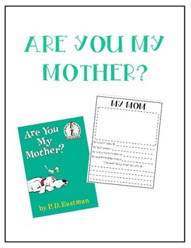 {K} - Are You My Mother?
