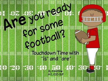 Are You Ready for Some Football? Language activities for ""