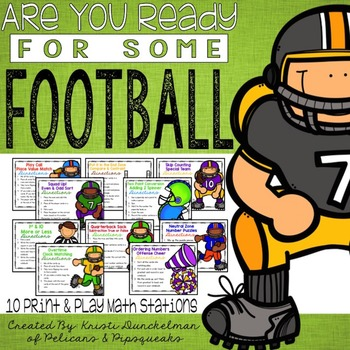 Are You Ready for Some Football? Print & Play Second Grade