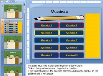 Are You Smarter than Your Teacher? Review Game