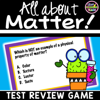 Game Show: A Review on MATTER