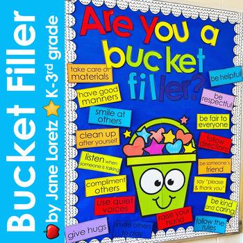 Are You a Bucket Filler? (bulletin board set)