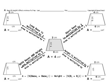 Area 12: Calculating Area + Base & Height's Effect on Area
