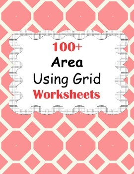 Area Using Grid Worksheets