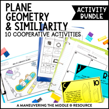Area & Circumference Activity Bundle
