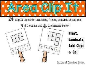 Area Clip It