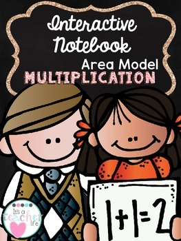 Area Model Multiplication Interactive Notebook