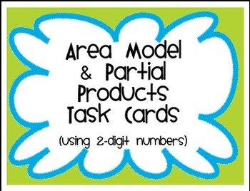 Area Model Packet