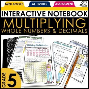 Area Models for Decimals Interactive Notebook Set