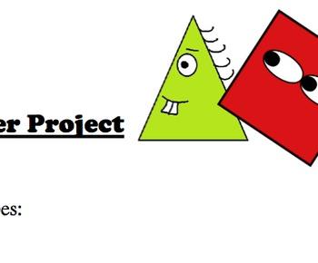 Geometry - Area & Perimeter Calculation & Art Project