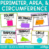 Area & Perimeter Formulas