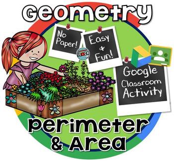 Area & Perimeter Google Classroom