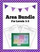 Area & Perimeter Package: Activities, Worksheets, Word Wal