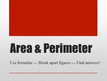 Area & Perimeter Power Point